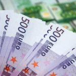 Обмен европейских денег в Киеве