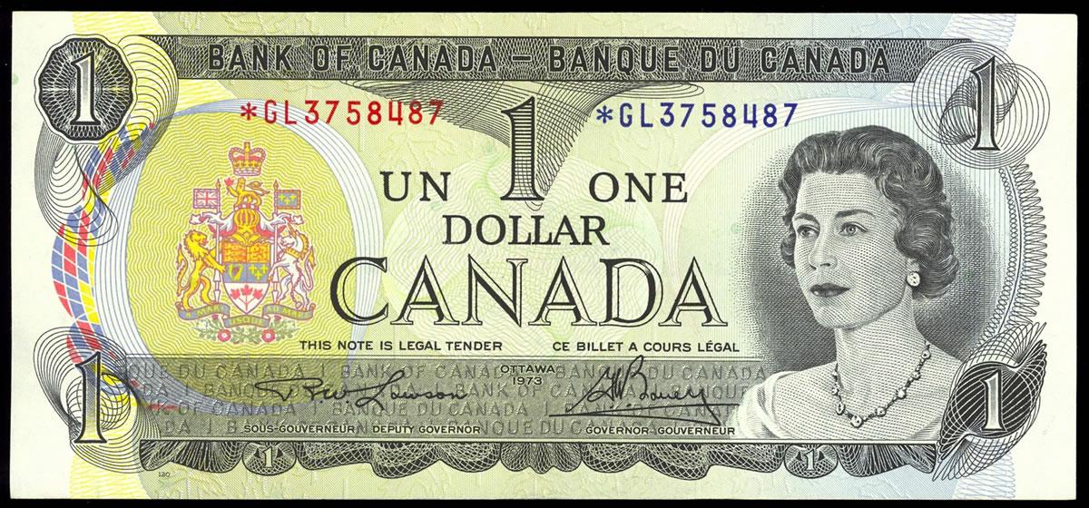 Старые канадские доллары можно обменять на новые